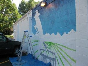 Mural Beavers Day 1